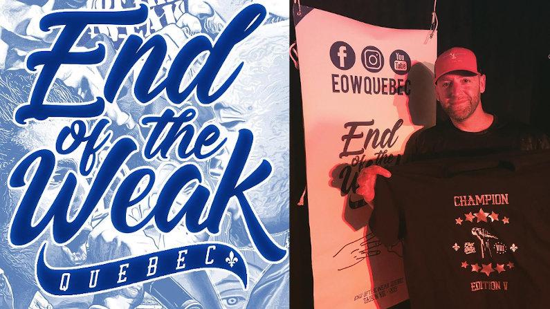 Félicitation à Fresh Corleone pour sa victoire au End of the Weak pour l'édition de Québec!