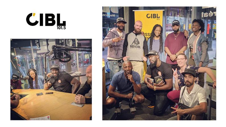 Nuit Blanche avec Dice B à radio Centre-Ville et à La Faim du Rap à CIBL