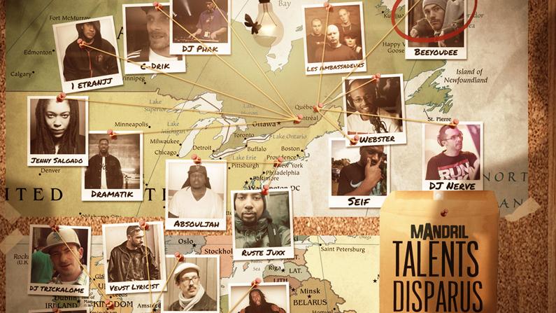 La compilation «Talents Disparus Vol. 2» réalisée par Beeyoudee est maintenant disponible en ligne!